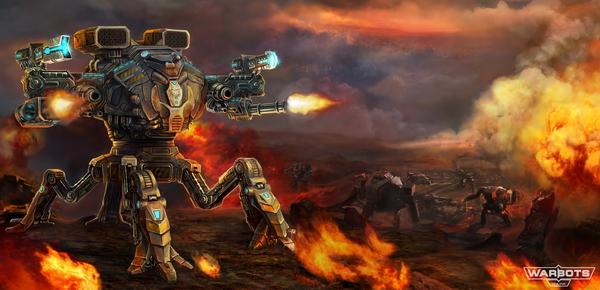 warbots online art