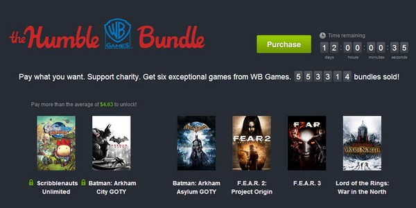humble wb bundle