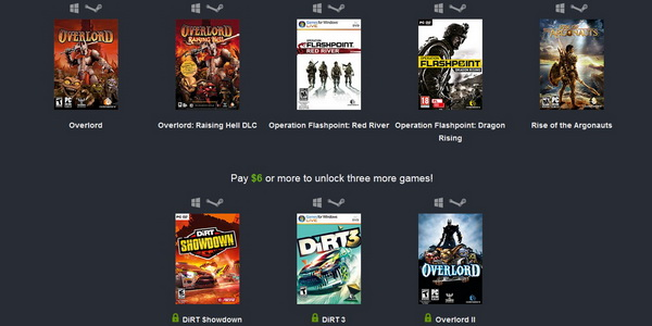 Codemasters Bundle