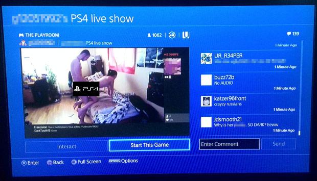 PS4sex
