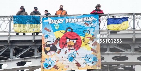 angry ukranians