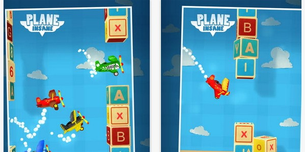 plane insane ios game
