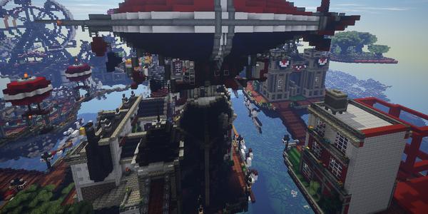 Columbia Minecraft