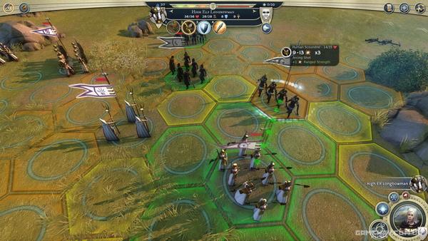Скриншоты геймплея Age of Wonders 3