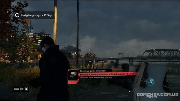 Скриншоты геймплея Watch Dogs
