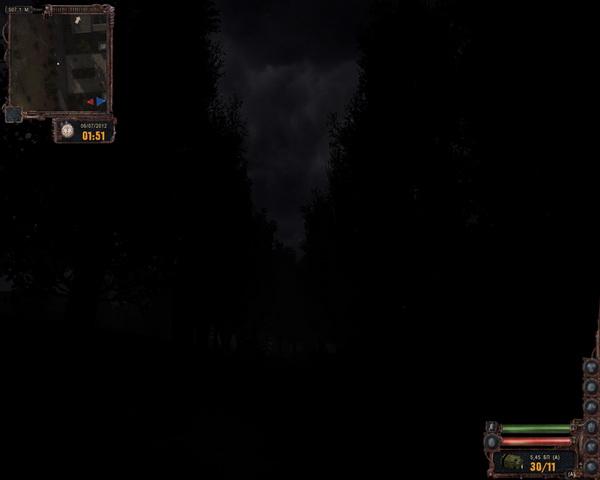 Темная долина. Ночь