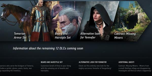 Witcher 3 DLC
