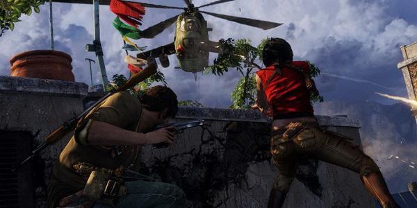 Как Uncharted 2 выглядит на PS4 — видео геймплея