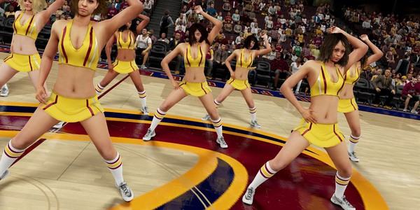 girls in NBA 2K 2016