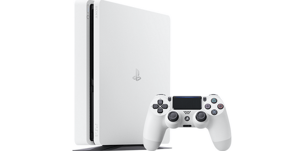 PS4 Slim White