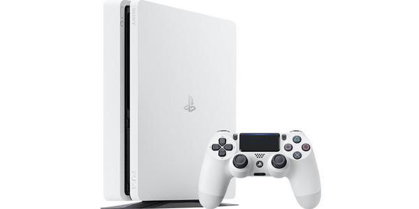 PS4 Slim White