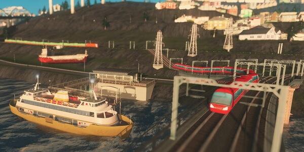 Cities Skylines Mass Transit
