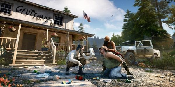 В Far Cry 5 появился лопатомёт (видео)