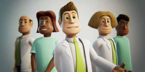 Геймплей Two Point Hospital (видео)