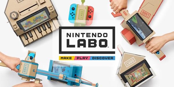 Как работает Nintendo Labo (видео)