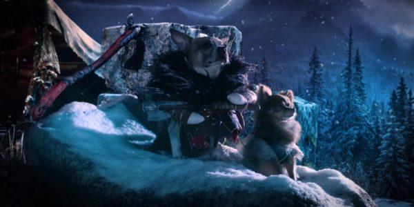 Новое рекламное видео God of War