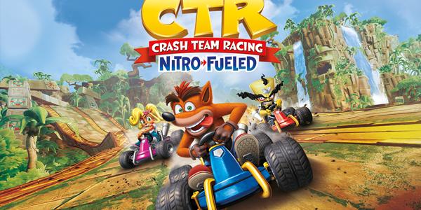 Смотрим геймплей Crash Team Racing Nitro-Fueled (видео)