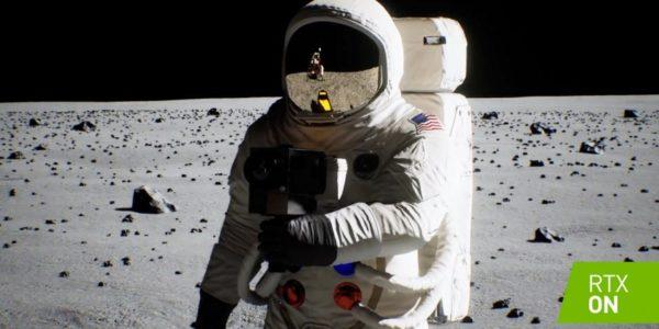 NVIDIA обновила демо исторической высадки на Луну