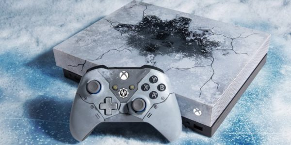 Microsoft к выходу Gears 5 выпустит лимитированный Xbox One X
