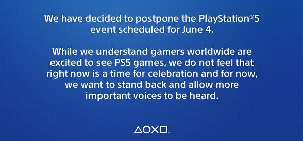 Из-за протестов в США нам не покажут игры для PlayStation 5