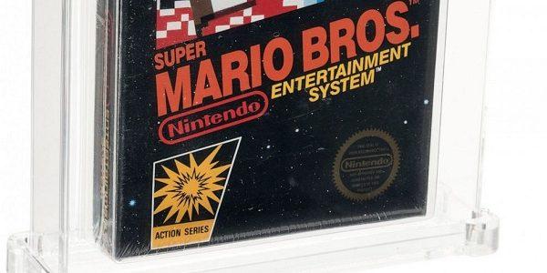 Винтажную Super Mario Bros. продали на аукционе за рекордную сумму