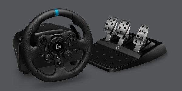 Logitech G923 - новый руль для PC, PS5 и Xbox Series X