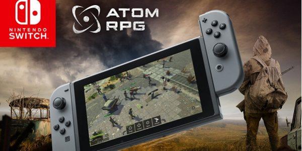 ATOM RPG выходит на Nintendo Switch