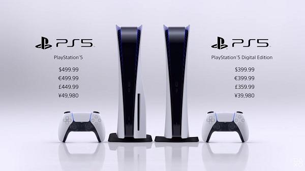 Стали известны цены на PlayStation 5 и дата старта продаж консоли