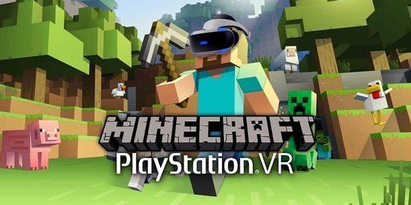 В Minecraft можно будет играть на PS VR