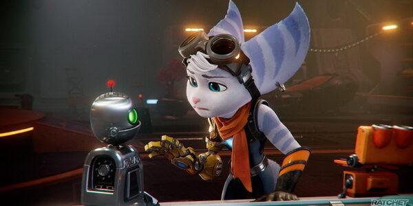 Ривет и геймплей Ratchet & Clank:Rift Apart, как в анимационном фильме