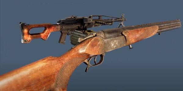 Оружие STALKER 2 - первое видео арсенала в игре