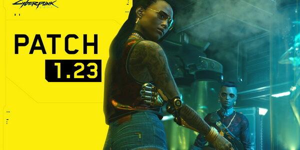 Патч 1.23 для Cyberpunk 2077 уже доступен на ПК и консолях