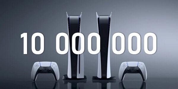 Офіційно: Sony продала понад 10 млн PlayStation 5